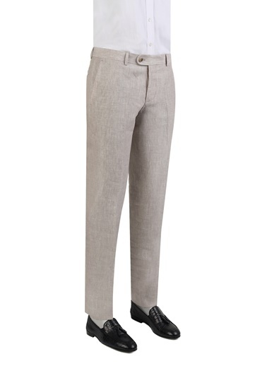 Damat Klasik Pantolon Bej